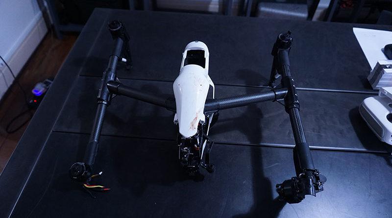 Drone quebrado, assistência técnica de Drones