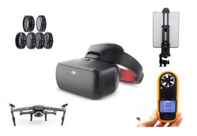 Os 15 melhores acessórios para pilotos de drones