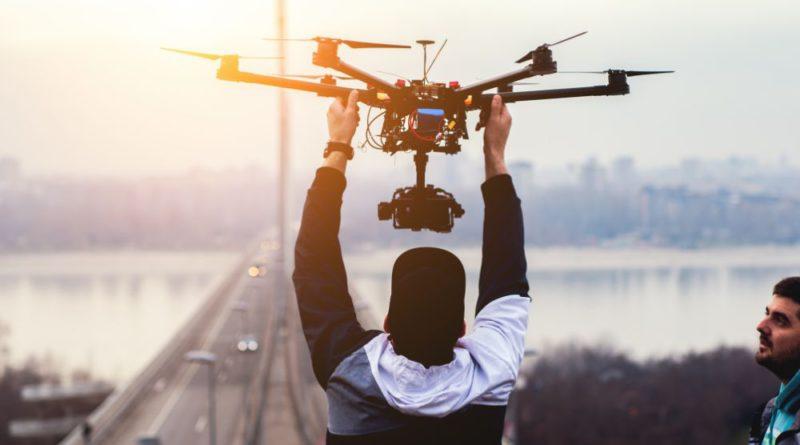 carreira de piloto de drones